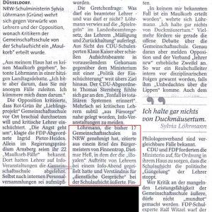 """Heß hat Verständnis für """"dienstliche Gespräche"""" geäußert"""