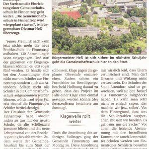 Auch Lennestadt erwägt Klage gegen Gemeinschaftsschule