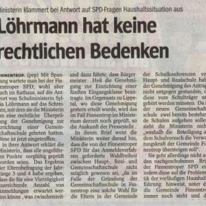 Artikel aus der WP / WR vom 24.02.2011