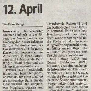 """Dahlmann: """"Brief führt wohl zu Konsequenzen"""""""