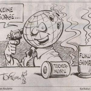 Karikatur aus der WP vom 13.04.2011