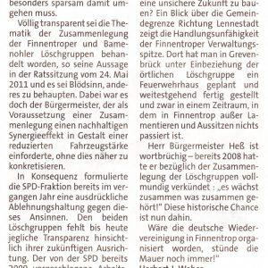 """""""Bürgermeister Heß ist wortbrüchig"""""""
