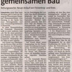 Artikel aus der WP / WR vom 09.09.2010