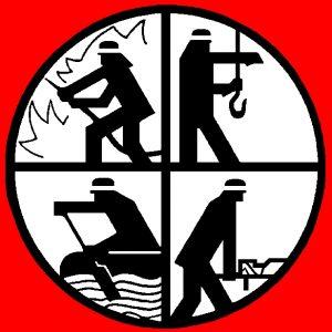 Das Logo der Feuerwehr