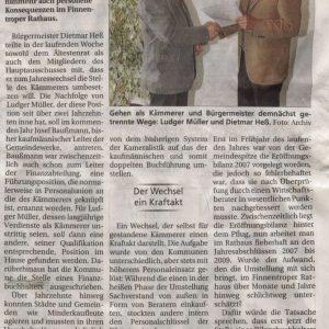 Artikel aus SonntagsKurier vom 14.11.2010