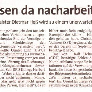 """""""Ich hätte da nachhaken sollen"""", so Dietmar Heß"""